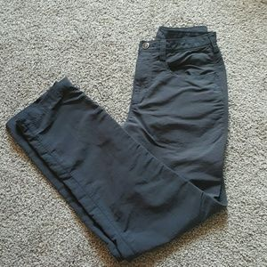 The North face women pants gray size 6